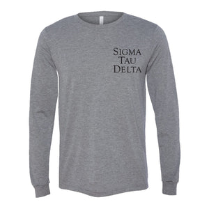 Grey Triblend Long Sleeve Shirt
