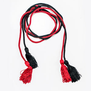 Red and Black Honor Cords