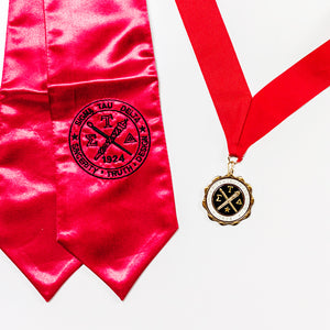 Red Medallion & Honor Stole