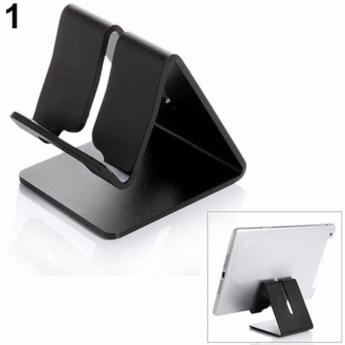 Universal Aluminium Alloy Cell Phone Tablet Table Desktop Desk Stand Holder-teefury
