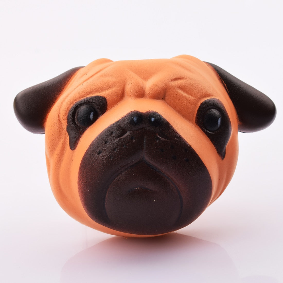 Kawaii Squishy Dog Face Bread Soft Slow Rising Phone Straps DIY Pendant Stretchy Squeeze Cream Scented Cake Kid Toy Gift P15-teefury