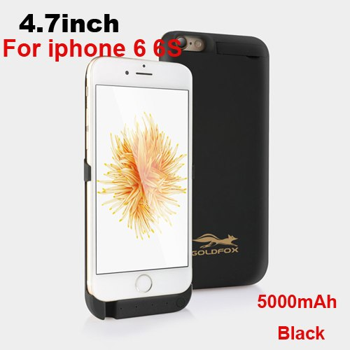 Battery Charger Case For iPhone 6 6 Plus 5000/8000mAh Backup Power Bank For iPhone 6 6s Portable External Battery Powerbank Case-teefury