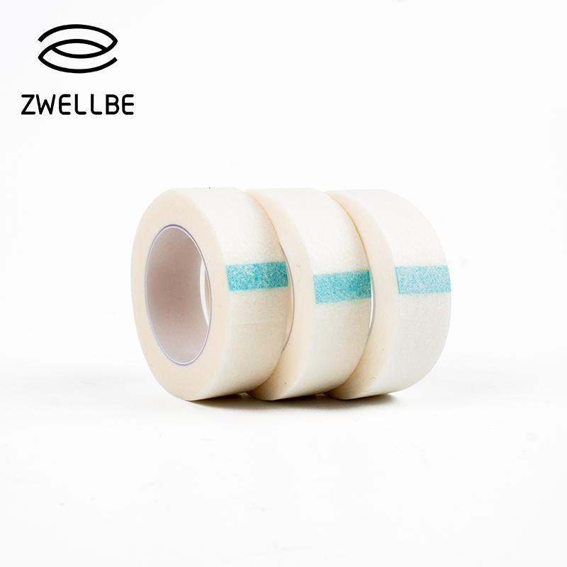zwellbe 3 Pcs/Lot Eyelash Extension Lint Free Eye Pads White Tape Under Eye Pads Paper T For False Eyelash Patch Make Up Tools-teefury