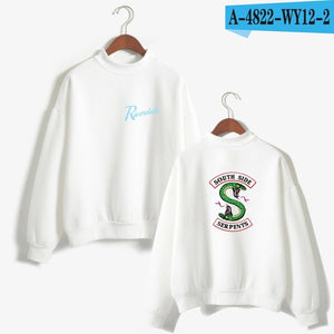 clothing sweatshirt riverdale hoodie Sleeve Fans southside serpents hood big size woman Casual Female costume hoddie-teefury