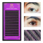 zwellbe 16Rows/Case JBCD Curl Eyelashes Extension Cilia 8-15 mm Lashes Extension for Faux Mink Individual Eyelash Extension-teefury