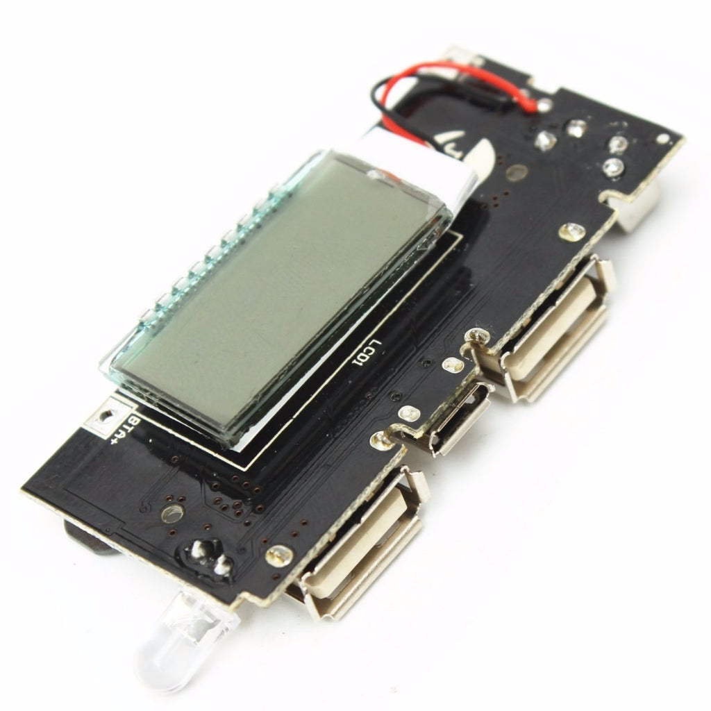 Universal Dual USB 5V 1A 2.1A New Hot Sale Mobile Power Bank 18650 Battery Charger PCB Power Module Accessories For Phone DIY-teefury
