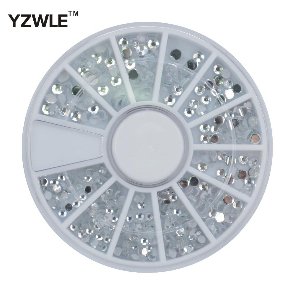 YZWLE 1 Wheel 3D Diy Design Nail Art Decoration / Nail Jewelry / Nail Tool, Perfect Use For Nail Salon (ZH-72)-teefury