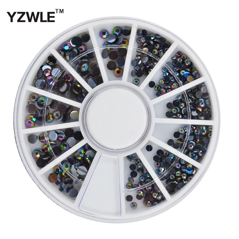 YZWLE 1 Wheel 3D Diy Design Nail Art Decoration / Nail Jewelry / Nail Tool, Perfect Use For Nail Salon (ZH-71)-teefury