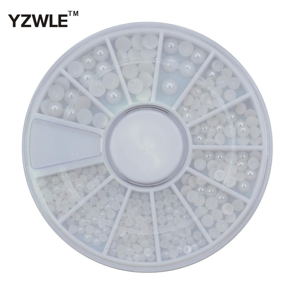 YZWLE 1 Wheel 3D Diy Design Nail Art Decoration / Nail Jewelry / Nail Tool, Perfect Use For Nail Salon (ZH-73)-teefury