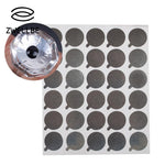 zwellbe 300pcs Disposable Grafted Eyelash Extension Glue Holder Pallet Makeup Gasket Sticker-teefury