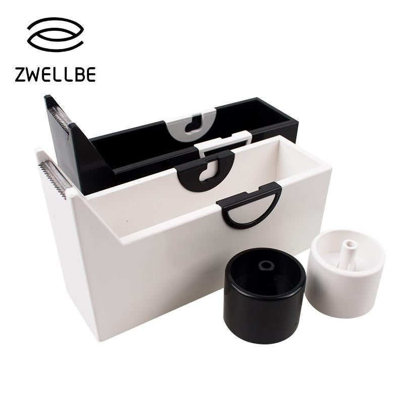 zwellbe 1pcs Tape Cutter Grafting Eyelash Cutting Eyelash Extension Makeup Tools Adhesive Tape Holder-teefury