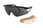 Bobster Safety Shooting Glasses - 3 Lenses Interchangeable - EPS Retail