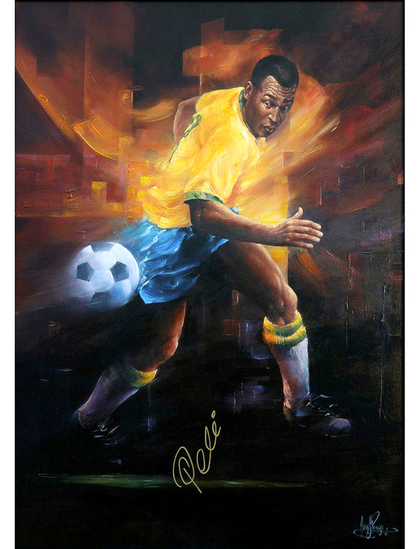 Pele - Limited Edition Giclee Print