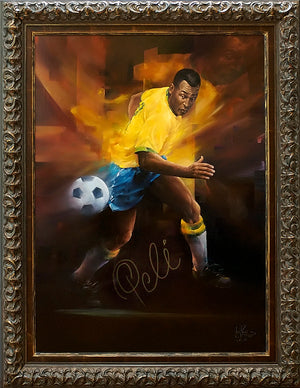 Pele - Original Oil On Linen