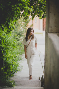 London, Linen Jumpsuit
