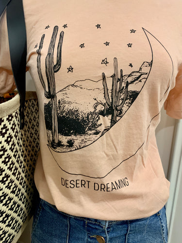 Women's graphic tee, Desert Dreaming