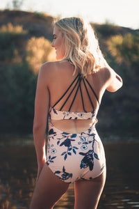 Peachy Swim Tank, Swimwear