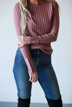 Melissa, Ribbed Sweater
