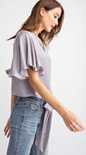 Boston, Silver wing sleeved top