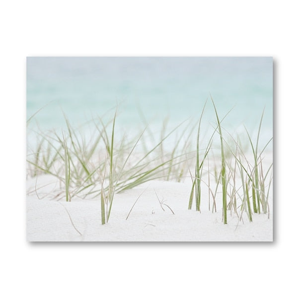 Ocean Sea Grass Canvas
