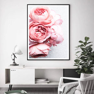 1 Piece Pretty Flower Wall Canvas Framed or Unframed