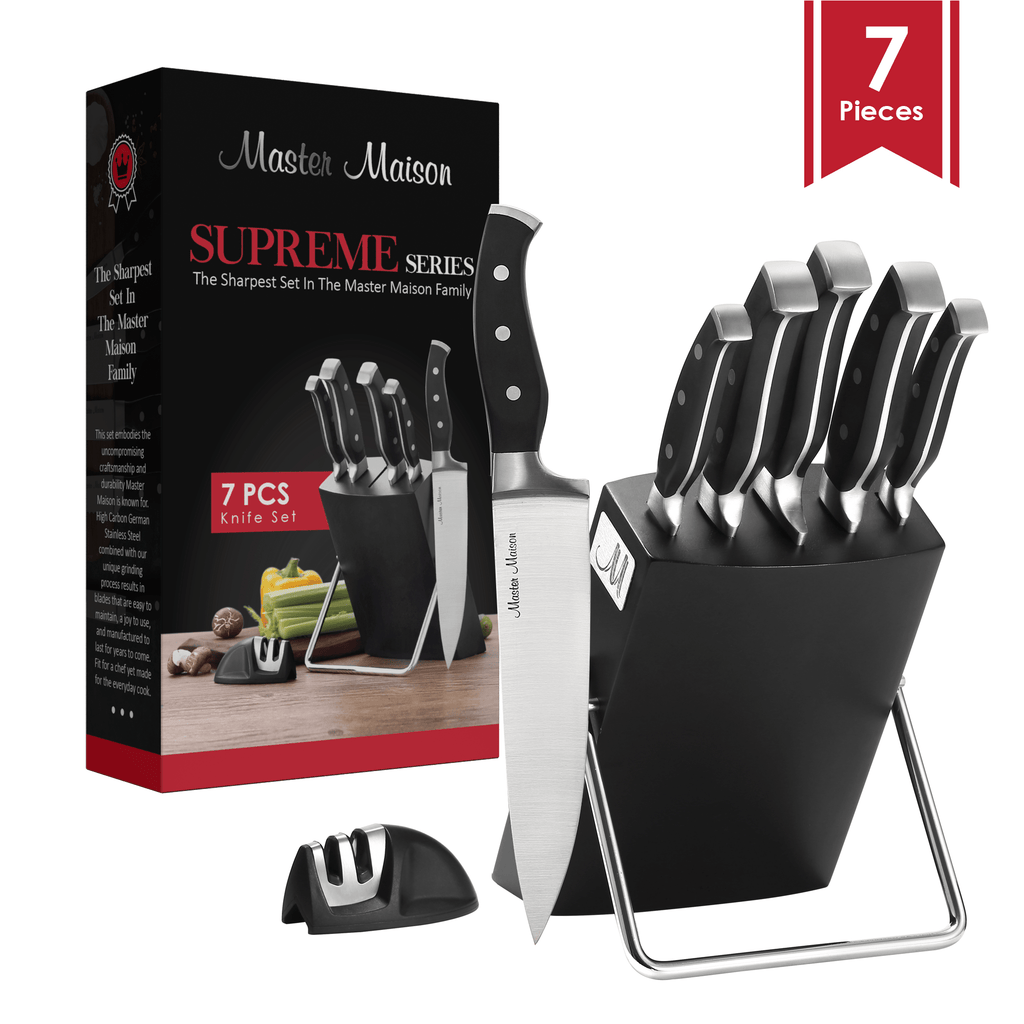 7-Piece Supreme Series Knife Set - Master Maison