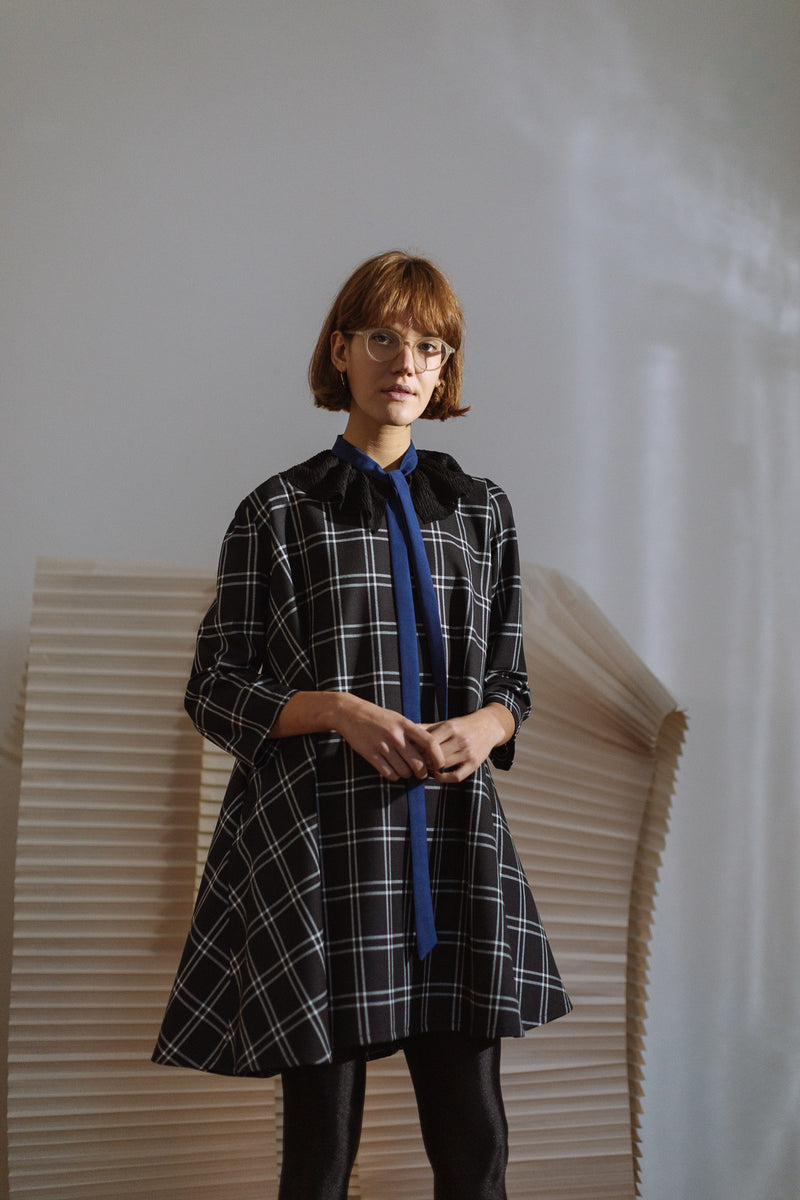 Fasada Plaid Dress