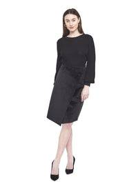 Hilary MacMillan Reversible Wrap Skirt