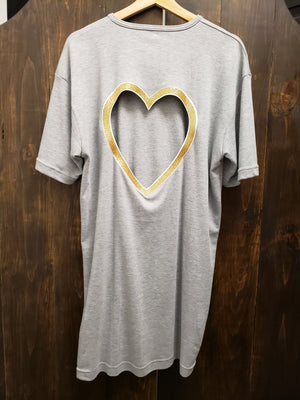 Wholly Wear Golden Heart Dress
