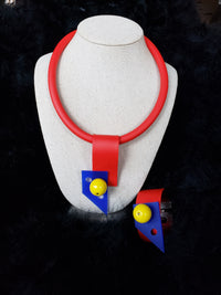 Primary Colour Necklace - Samuel Coraux