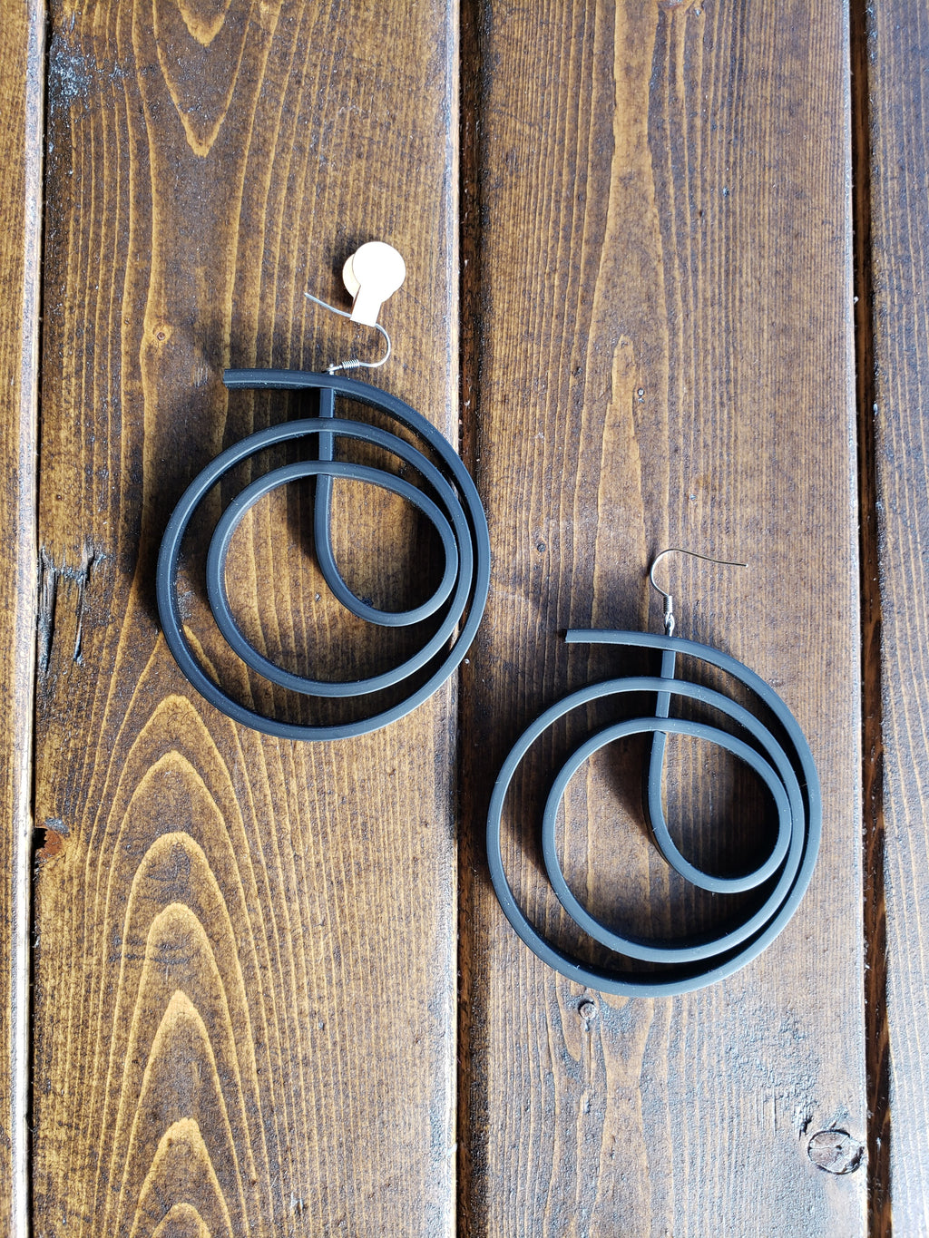 Spiral Hoop Earrings - Samuel Coraux