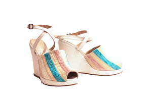 Soft Rainbow - Strap Wedge