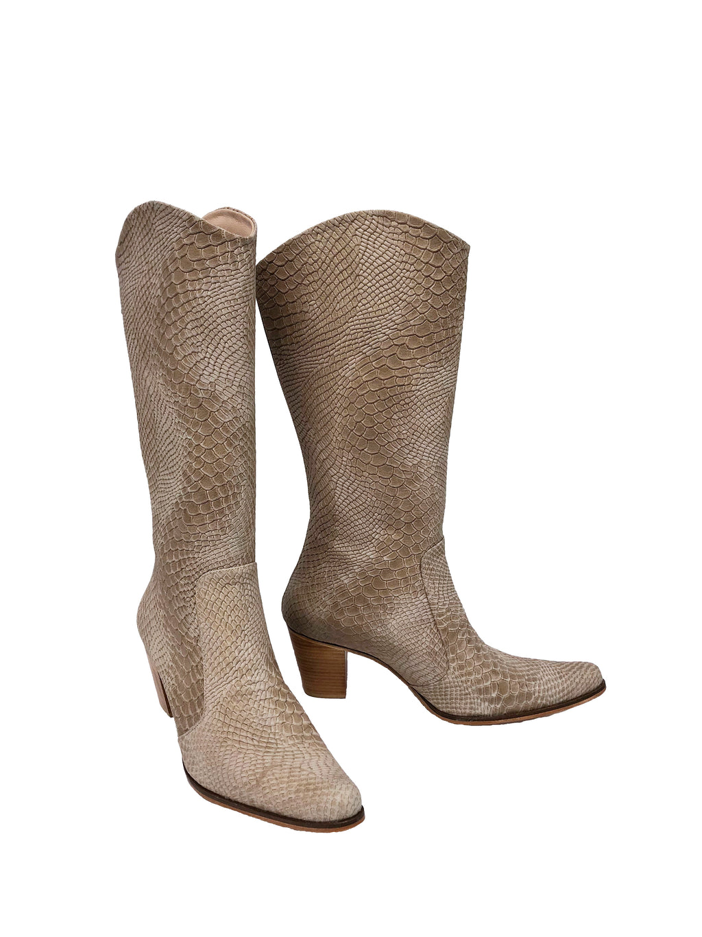 Nude Python Leather - Cowboys