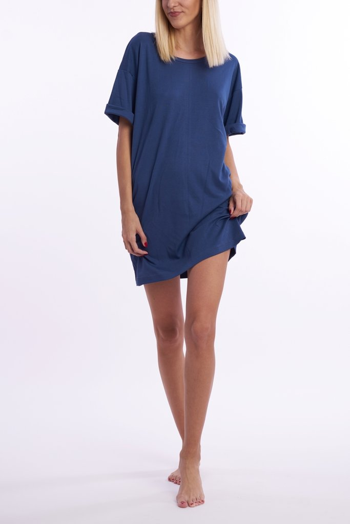 Wholly Wear Navy Anchor Dress