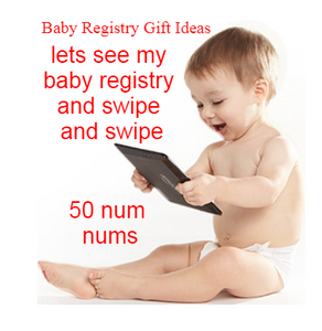 How to open a baby registry on amazon