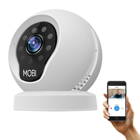 MobiCam Multi-Purpose, Wi-Fi Video Baby Monitor, Monitoring System, Camera