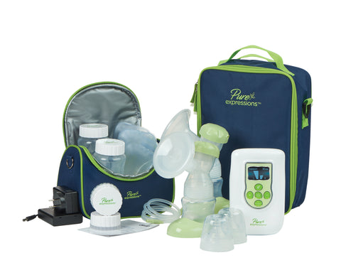 Drive Medical Pure Expressions Deluxe Dual Channel Electric Breast Pump