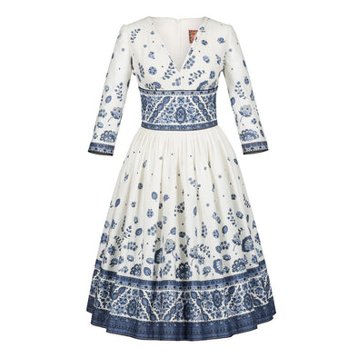 Sans Souci Dress provence Blue
