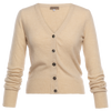 Lord Strickjacke  creme