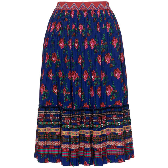 BALATON SKIRT BLUE