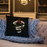 Things Must Come To An End - Old School Rose Tattoo - Throw Pillow - Pillow