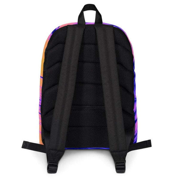 Bright Berry Blur Trippy Backpack - Backpack