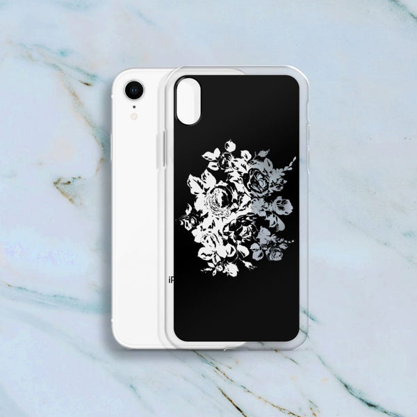 Clear Floral Cutout Phone Case (Iphone) - Iphone Case
