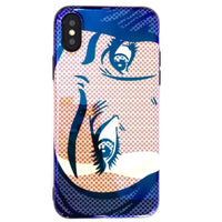 Holographic Pop Art Sad Aesthetic Phone Case (Iphone) - Iphone 6+ 6S+ - Iphone Case
