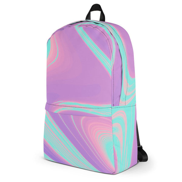 Cotton Candy Clouds Trippy Backpack - Backpack