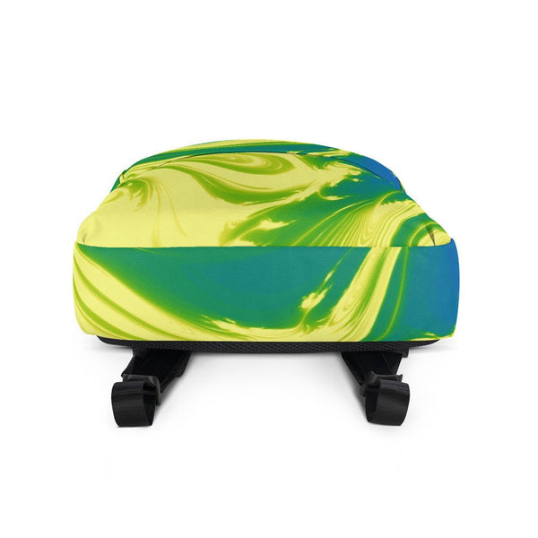 Lemon Lime Lava Trippy Backpack - Backpack