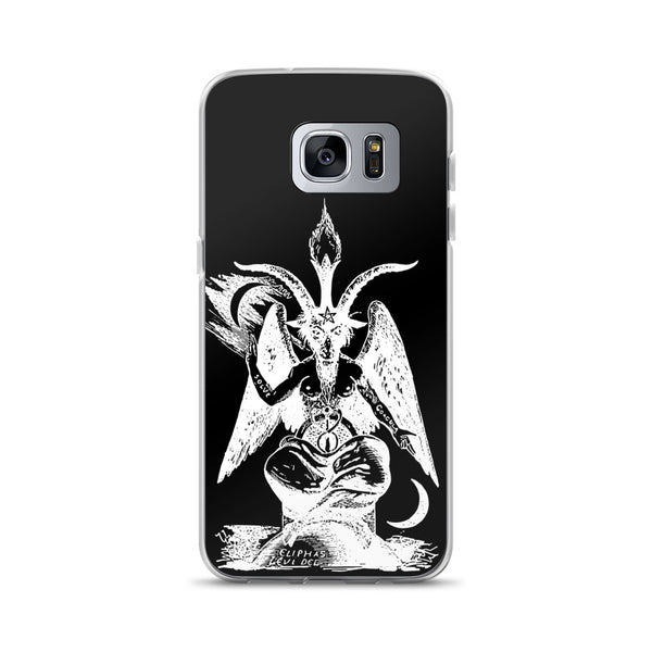 Baphomet Phone Case (Samsung) - Black / Samsung Galaxy S7 Edge - Samsung Case