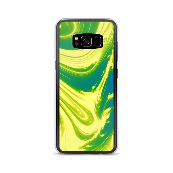Lemon Lime Lava Trippy Phone Case (Samsung) - Samsung Galaxy S8 - Samsung Case