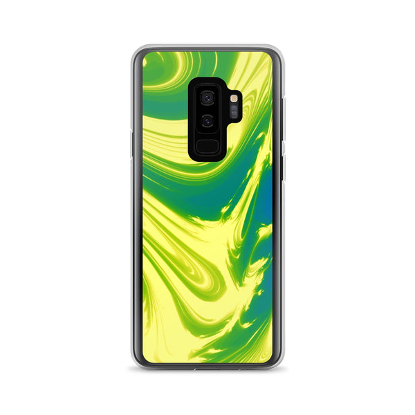 Lemon Lime Lava Trippy Phone Case (Samsung) - Samsung Galaxy S9+ - Samsung Case