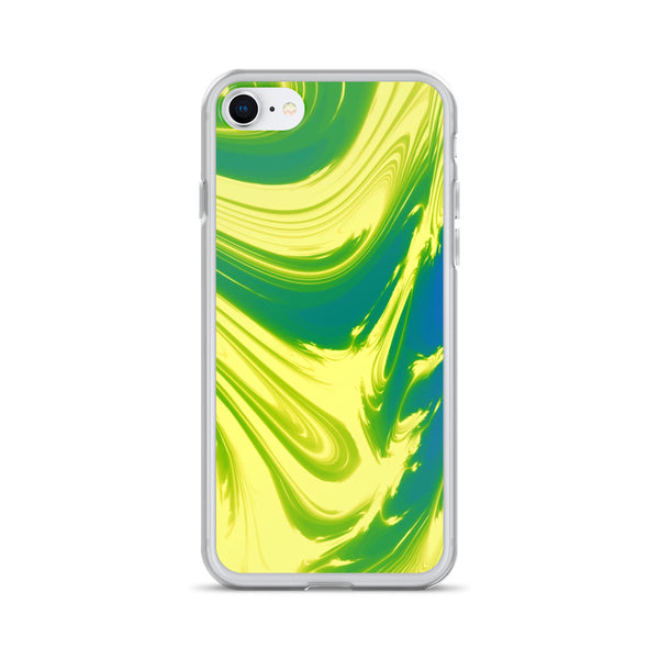 Lemon Lime Lava Trippy Phone Case (Iphone) - Iphone 7/8 - Iphone Case